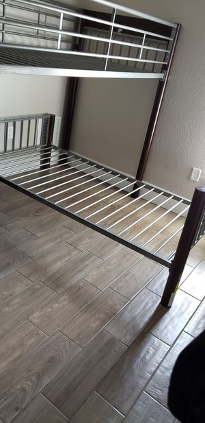 Wood and metal framed bunk bed for Sale in Land O Lakes, FL