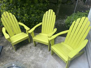 Three Adirondack Chairs - World Market for Sale in Redmond, WA