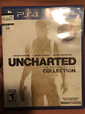 PS4 Uncharted for Sale in Tampa, FL