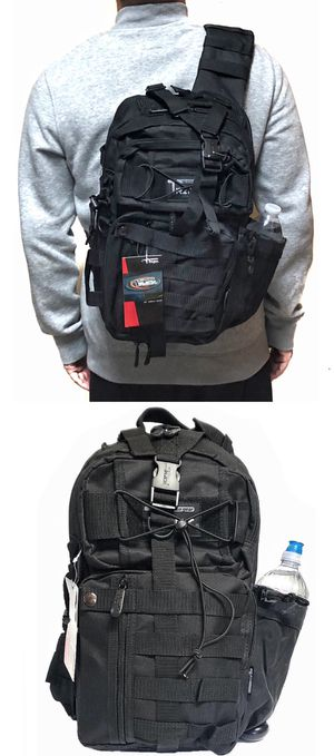 NEW! Tactical Military Style Backpack Sling Side Crossbody Bag gym bag work bag travel luggage school bag camping travel hiking hunting fishing for Sale in Long Beach, CA