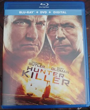 THE HUNTER KILLER (BLU RAY + DVD) ***SEE OTHER POSTS*** for Sale in El Cajon, CA