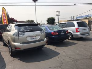 Toyota, Chrysler, Lexus for sale for Sale in Moreno Valley, CA