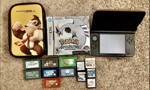 3DS XL games included for Sale in Fairfield, CA