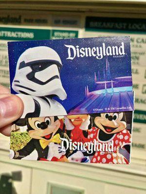 Disneyland Tickets (1 Park Peak) for Sale in Los Angeles, CA