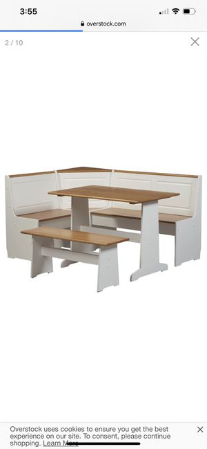 Kitchen corner breakfast bench and table for Sale in Cleveland, OH