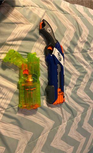 Nerf gun elite n strike rough cut and nerf n strike maverick rev-6 for Sale in Glendale, CA