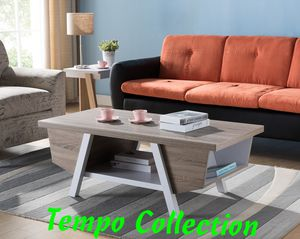 NEW, Dana Coffee Table / Center Table, Dark Taupe and White Finish, SKU# 161821CT for Sale in Westminster, CA