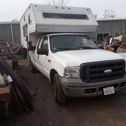 F250 With Camper for Sale in Fresno,  CA