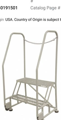 Cotterman 2 Step Ladder *like NEW for Sale in Saratoga,  CA