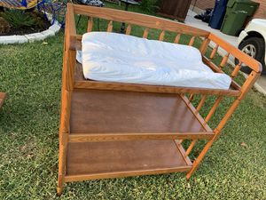 Changing table for Sale in Garland, TX