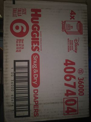 10 cases of huggies for Sale in Baltimore, MD