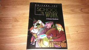 School to Work student handbook for Sale in Denver, CO