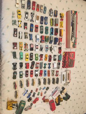 Huge lot of small collectible toy cars! 100+ for Sale in Port Charlotte, FL