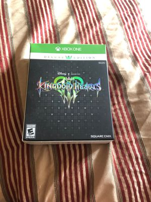 Kingdom Hearts 3 Deluxe Edition for Sale in Upland, CA
