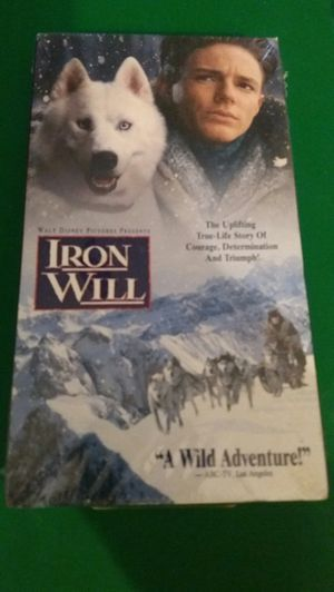 Disney's IRON WILL (VHS) NEW! for Sale in Lewisville, TX