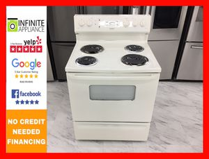 Hotpoint Electric Stove (Take it home today with only $39 DOWN. No credIt needed) for Sale in San Jose, CA