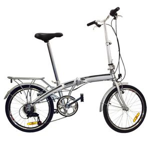 """Best Choice Products Folding Bike 20"""" Shimano 6 Speed Bike Fold Storage Silver College School Sports for Sale in New Albany, OH"""