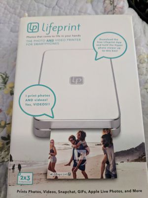 Lifeprint Photo & Video Printer for Sale in San Luis Obispo, CA