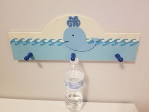 Kids whale hanger for hats/clothes for Sale in Leesburg, VA