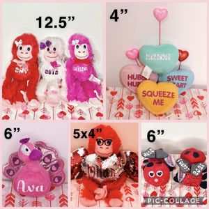 Personalized Valentines Day Plushys for Sale in San Diego, CA
