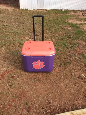 Clemson cooler Rolls by Coleman for Sale in Simpsonville, SC