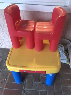 Kids table with chairs for Sale in Walnut, CA