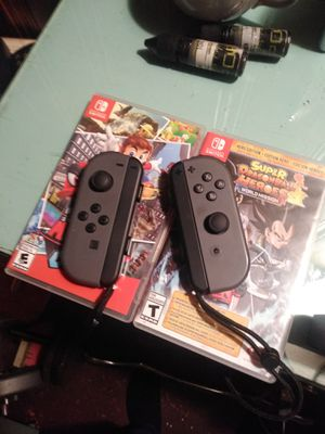 Nintendo switch games controller and charging dock for Sale in Barberton, OH