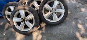 Toyota Camry stock wheels, tires are like brand new 215/55/17 for Sale in Gaithersburg, MD