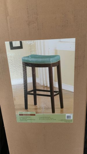 Allure Bar Stool. 18.75 W x 13 D x 30 H . NEW. Never opened. Reg $109. for Sale in West Mifflin, PA