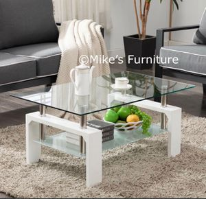 Brand New Glass Coffee Table for Sale in Sunrise, FL