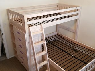 Bunk Beds With Dresser & Shelves for Sale in Syracuse,  UT