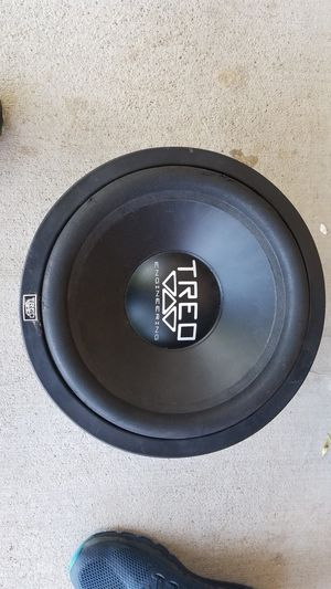 12' Subwoofer treo engineering for Sale in Denver, CO