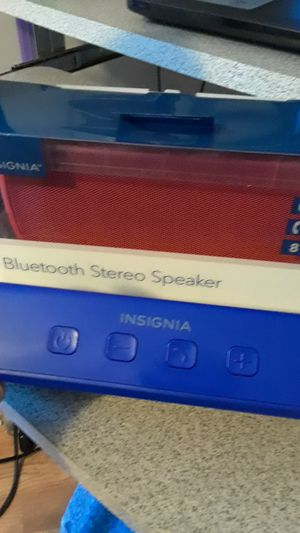 Insignia bluetooth speakers. for Sale in Humble, TX
