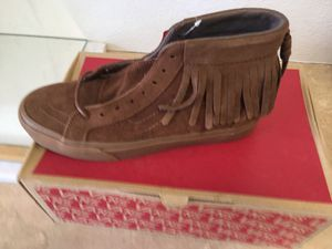 Vans limited edition suede moccasin men's sz. 7 for Sale in Los Angeles, CA