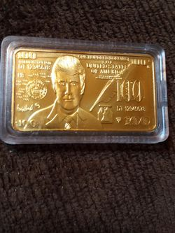 Trump Gold Plated Bar for Sale in Conroe,  TX