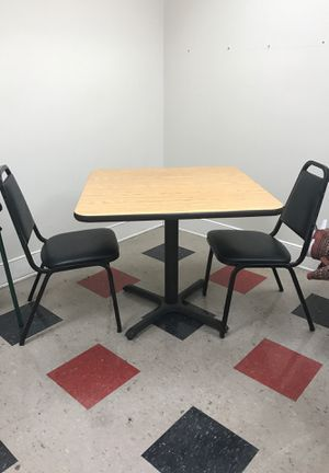Office kitchen table and chairs for Sale in San Bruno, CA