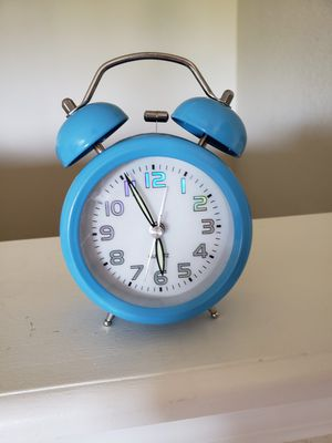 Bell alarm clock for Sale in Sugar Land, TX