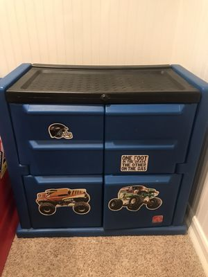 Step 2 child's plastic molded dresser/cabinet for Sale in Buena Park, CA