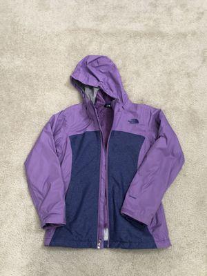North face rain jacket big girl for Sale in Fairfax Station, VA