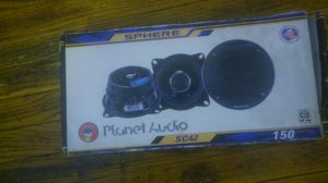 Hunter and 50 watt planet audio speakers for Sale in St. Louis, MO