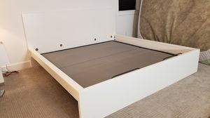 White IKEA Malm Bed Frame. Great Condition. for Sale in Hillsboro, OR