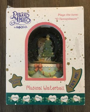 """New still in box/package • Precious Moments Musical Waterball • Plays """"O Tannenbaum"""" for Sale in Covina, CA"""