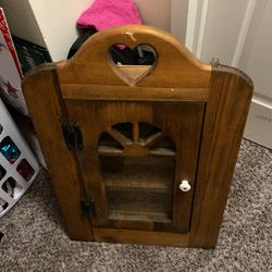 A Beautiful Antique Spice Rack Or Medicine Real Wooden Cabinet for Sale in Alexandria,  VA