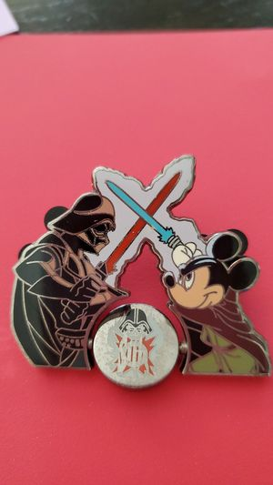 Disney Mickey and Darth Vader pin for Sale in Puyallup, WA