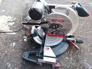 """Bosch 12"""" Dual-Bevel Slide Miter Saw with Upfront Controls for Sale in San Diego, CA"""