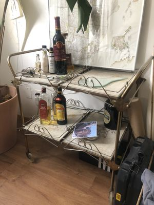 VINTAGE BAR CART for Sale in Brooklyn, NY