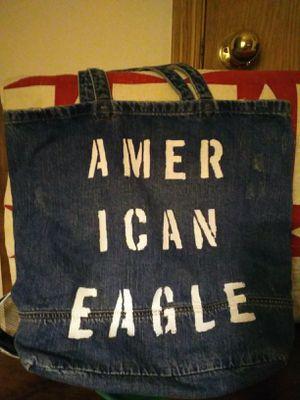 American Eagle denim tote bag for Sale in Battle Ground, WA
