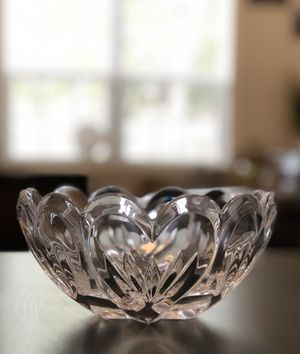Marquis Waterford Crystal Romance Heart Scallop Bowl - NEVER USED for Sale in Keizer, OR
