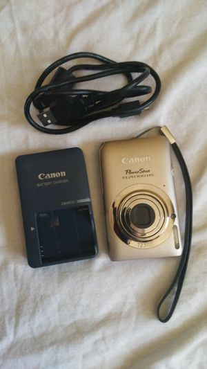 CANON POWERSHOT CAMERA HDMI DIGITAL 12.1 MPX USB CABLE & CHARGER for Sale in Escondido, CA