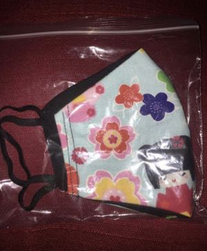 Geisha Adult Face Mask Reversible Double Sided for Sale in Upland, CA